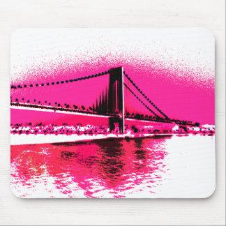 Pink-Überfahrt mousepad