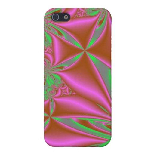 Pink und Grün iPad Fall iPhone 5 Case