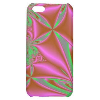 Pink und Grün iPad Fall