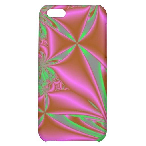 Pink und Grün iPad Fall iPhone 5C Hüllen