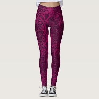 Pink und Paisley Leggings