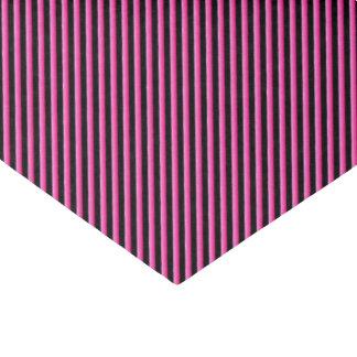 Pink-und Schwarz-Diagonale Striped Seidenpapier