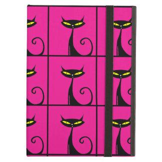 Pink-und Schwarz-Miezekatze-Katzen-Collage
