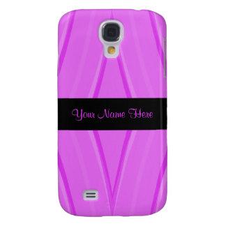 Pink und Schwarzes Galaxy S4 Hülle