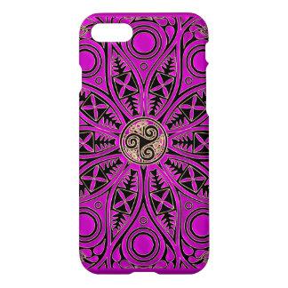 PinkCeltic Triskele Mandala iPhone 8/7 Hülle