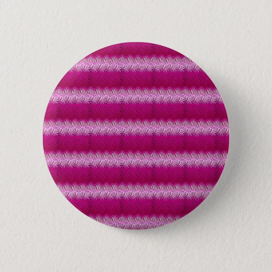 Pinkes Muster Runder Button 5,7 Cm