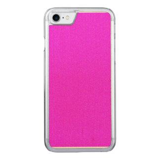 Pinkfarbener Stern-Staub Carved iPhone 8/7 Hülle