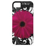 Pinkfarbenes Gerbera-Gänseblümchen mit Etui Fürs iPhone 5