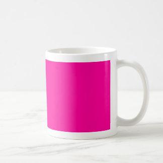 Pinkfarbenes magentarotes Pink der Tasse