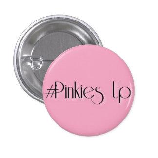 #Pinkies oben Runder Button 3,2 Cm