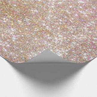Pinky Glitzer-Verpackungs-Papier Geschenkpapier
