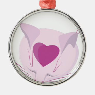 Pinky Silbernes Ornament