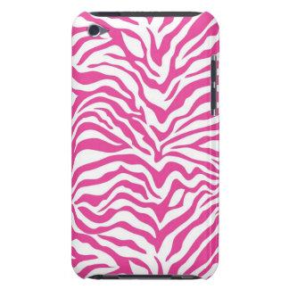 Pinkzebra-Druck-wildes Tier Stripes Neuheit iPod Touch Hüllen