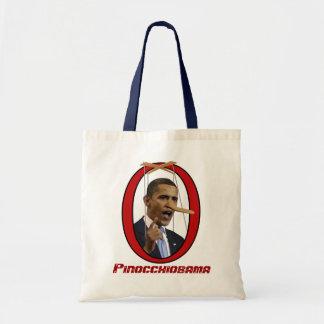 Pinocchiobama Taschen-Tasche Budget Stoffbeutel