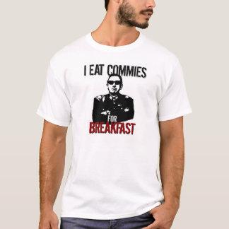 Pinochet - ich esse Commies zum Frühstück T-Shirt