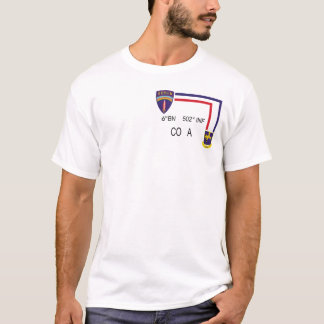Pint-Shirt 6. BN 502. INF Co A T-Shirt