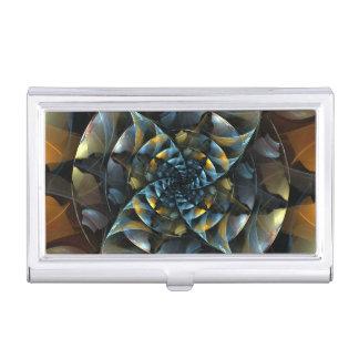 Pinwheel-abstrakte Kunst Visitenkarten Dose