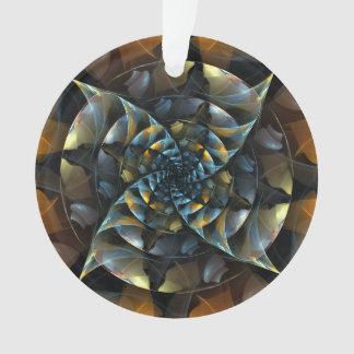 Pinwheel-abstrakter Kunst-Acryl-Kreis Ornament