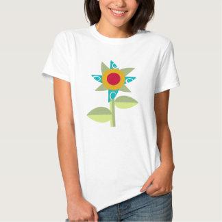 Pinwheel-Blume T Shirts