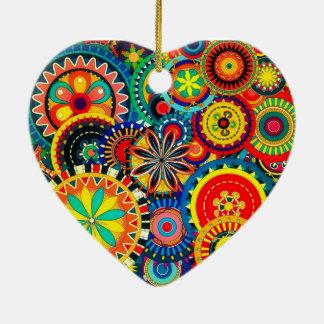 Pinwheel-Feier-Herz-Verzierung Keramik Ornament