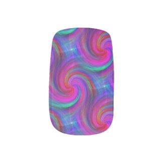Pinwheel-Traumnagel-Kunst Minx Nagelkunst