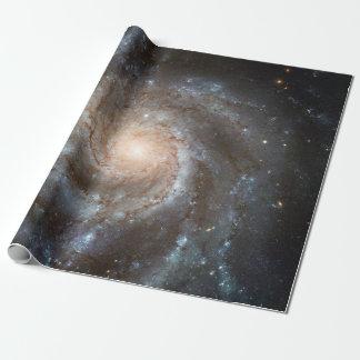Pinwheelgalaxie Hubble Teleskop-Weltraum-Foto Geschenkpapier