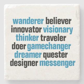 Innovator Gamechanger Visionary Dreamer Tag Cloud