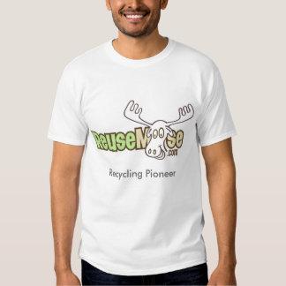 Pionier recyceln - ReuseMoose Hemd
