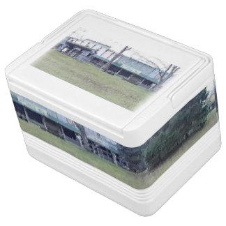 Pionierdigital-Öl-Kunst-Iglu 12 kann cooler Igloo Kühlbox