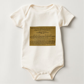 Pionierdorf, Brimley, Michigan Baby Strampler