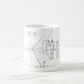 Pionierplakette Tasse