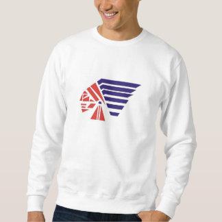 Piqua Jugend-Fußball-Ureinwohner-Geist-Abnutzung Sweatshirt