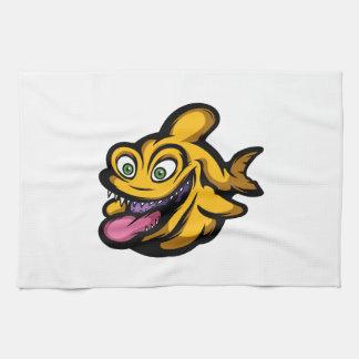 Piranha Geschirrtuch