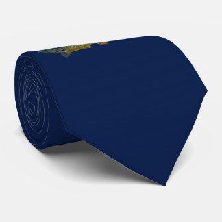 Piranha-Krawatte (Marine) Individuelle Krawatte