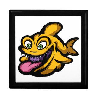 Piranha Schmuckschachtel