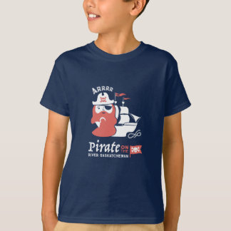 Pirat auf dem Fluss-Saskatchewan-T - Shirt