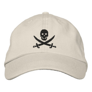 Pirat Bestickte Kappe