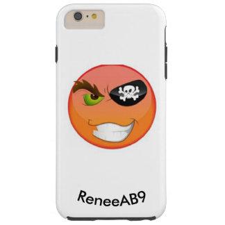 Pirat Emoji Iphone durch ReneeAB9 Tough iPhone 6 Plus Hülle