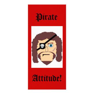 Pirat, Haltung! Werbekarte