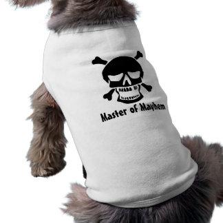 Pirat Hund-Meister der Verstümmelung Shirt
