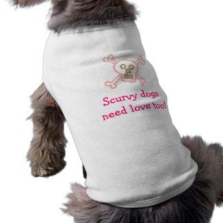 Pirat Hund-Skorbut Hund Shirt