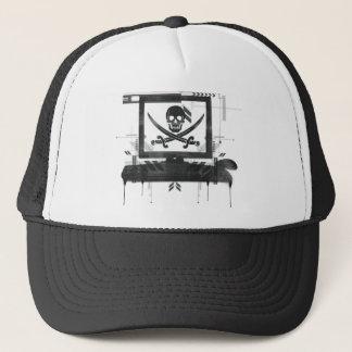 Pirat HUT Truckerkappe