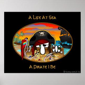 Pirat Kilroy Plakat