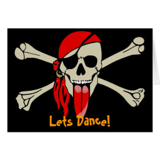 Pirat Laurent Drapeau mit der besonders langen Karte
