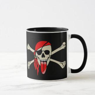 Pirat Laurent Drapeau mit der besonders langen Tasse