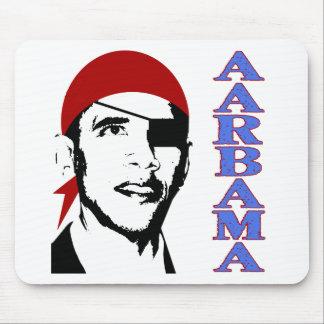Pirat Obama Mousepads