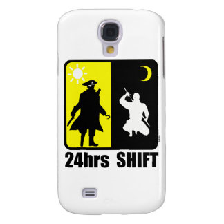 Pirat und ninja, Verschiebung 24hrs Galaxy S4 Hülle