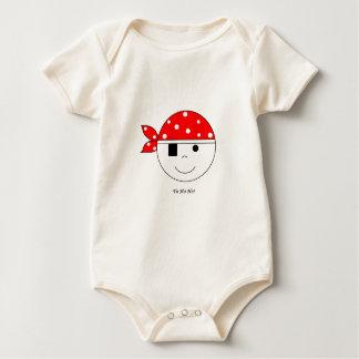 Pirat Yo-Ho-Ho! Baby Strampler