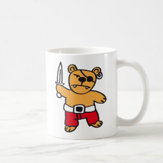 Pirate bear kaffeetasse
