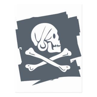 PIRATE_FLAG POSTKARTE